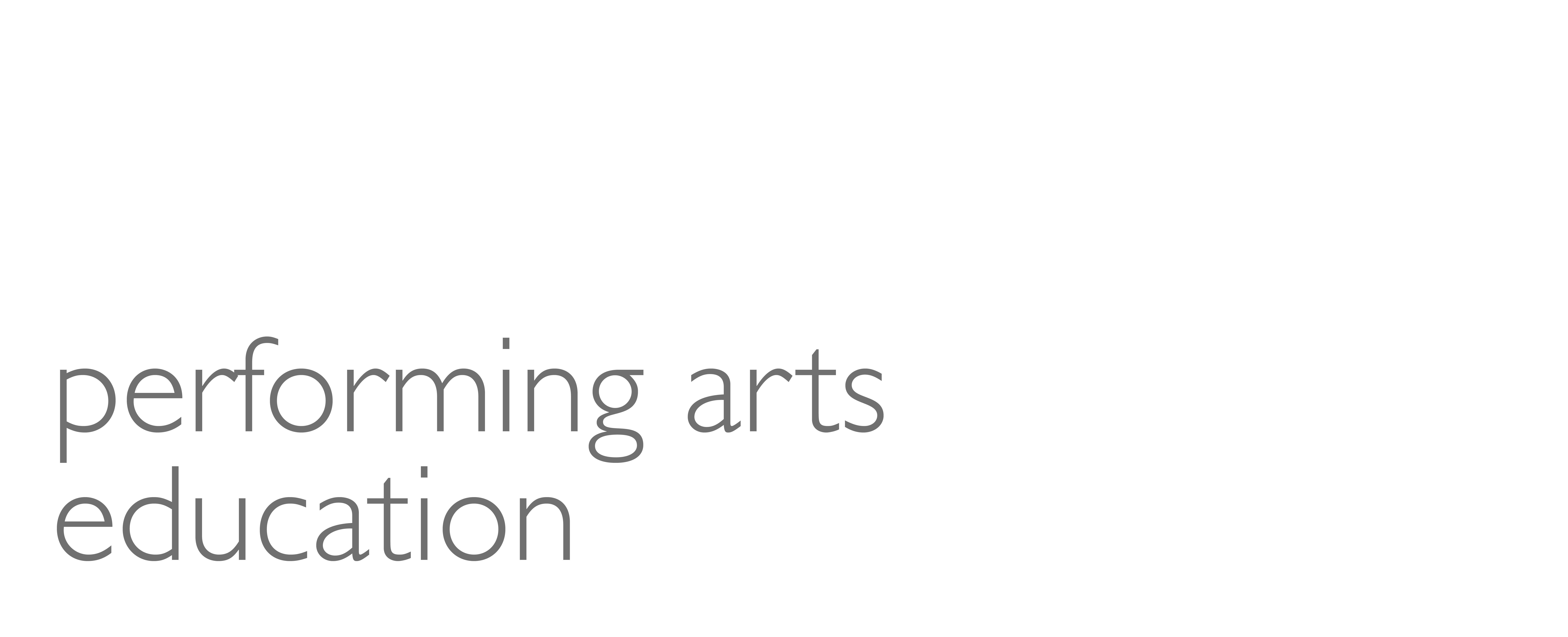 Education Plans Lack Clarity On >> Talaske Performing Arts Education